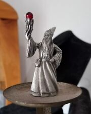 Pewter Wizard Spellcaster