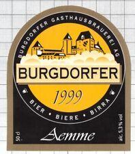 SWITZERLAND Burgdorfer Gasthaus Brauerei AEMME 50cl beer label C2261 013