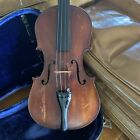 Antique c.1920's / 30's Violin German copy of Antonius Stradivarius; estate item