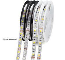 5m LED Streifen 12V 24V DC RGB RGBW RGBWW SMD 5050 Stripe Dimmbar Band Leiste