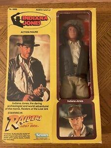 """1981 Kenner Raiders Of The Lost Ark Indiana Jones 12"""" Figure MIB 100% COMPLETE"""