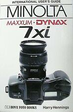 Minolta Maxxum 7xi Complete User's Guide | Hovo Press | New | 176p |