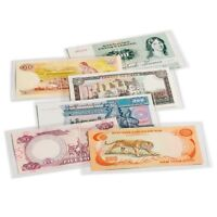 50 Banknote Quality Sleeves Currency Holders Lighthouse Medium US Modern Free SH