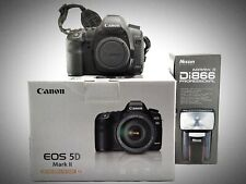 Canon EOS 5D Mark II 21MP Fotocamera D-SLR EOS 5D MKII 2 + Flash