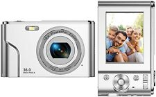 Digital Camera FHD 1080P Mini Video Camera 36MP Vlog Camera for YouTube 2.4 Inch