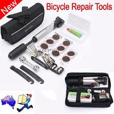 New SAHOO Bicycle Bike Cycling MTB Carry Tyre Repair Tools Bag Pump Set Kit AU