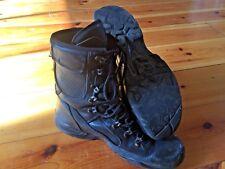 Original British Army YDS Black Swift Temperate Leather Goretex Boots Size 8L UK