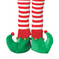 CHILD Elf Gnome Pixie Shoes Christmas Xmas Fancy Dress