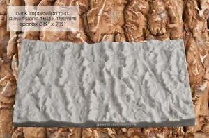 Silicone mould Bark Impression Mat | Food Use FPC Sugarcraft FREE UK shipping!