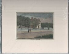THE EAGLE SNARESBROOK EAST LONDON - 1880s VICTORIAN PRINT HAND COLOURED