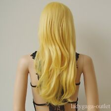 70 Style Women Cosplay Hair Wig Long Straight Wavy Party Dress Colorful Full Wig