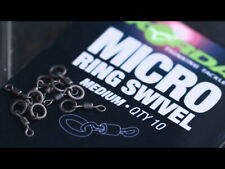 Korda Micro Ring Swivels 10 Per Pack New