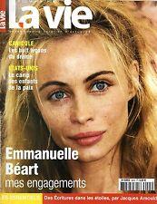 Mag rare 2003 => EMMANUELLE BEART_MARC VEYRAT