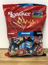 Italian Loacker Minis 800g Crispy Wafers With Hazelnut Filling , 80 Individuals