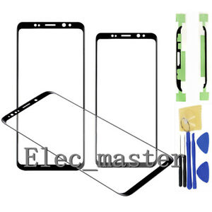 for Samsung Galaxy S9 S9 Plus Original Front Glass Lens Screen Replacement Parts