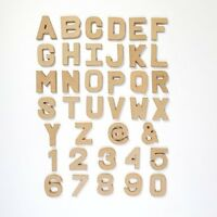 Papier Paper Mache Large & Small Letters / Numbers 20.5cm & 10cm Cardboard Craft