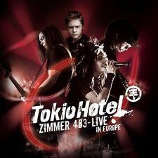 CD Album Tokio Hotel Zimmer 483 Live in Europa (Reden, Schrei, Totgeliebt) 2007