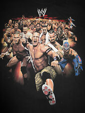 """JOHN CENA REY MYSTERIO SHAWN MICHAELS BOOKER T """"I WAS THERE"""" (LG) Shirt"""