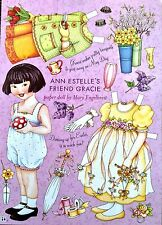 Mary Engelbreit Mag. Paper Doll, Gracie, April/May 2004, Uncut