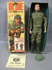 "GI Joe Vintage ""ACTION SOLDIER"" 7500 w/ Box 12 Inch Action Figure 1964 Hong Kong"