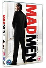 Mad Men Complete Series 4 DVD All Episodes Fourth Season Original UK Rel NEW R2