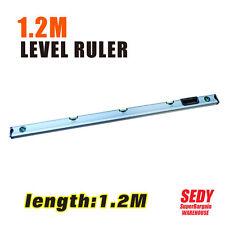 "1.2m 47"" 5 in 1 Spirit Level Angle Measure Ruler Aluminium Tiling Decorating NEW"