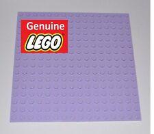 GENUINE LEGO PARTS-16X16 STUDS LAVENDER PLATE/MAT/BASE BOARD/BASEPLATE/BASEBOARD