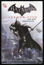 Batman Arkham City Hardcover Dust Jacket HC Joker Dark Knight Video Game tie-in