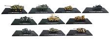 Lot de 10 véhicules militaires 1/72 - 2nd Guerre Mondiale URSS DIECAST MODEL T1