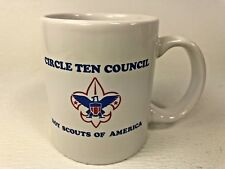 Vintage Boy Scout Coffee Mug Circle Ten Council Texas Oklahoma