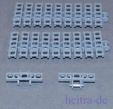 LEGO Technik - 20 collegamenti catena Larga Grigio chiaro/Link Tread/3873 Merce Nuova