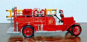 1926 NMMM Signature Models Ltd. - Ford Model T Fire Truck-1:32 Scale Diecast NIB
