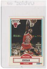 1990-91 Fleer #26 MICHAEL JORDAN No Line Reverse Error (NM-MT)