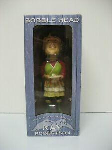 DUCK DYNASTY, KAY ROBERTSON bobble head, new in box