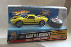 Hot Wheels R/C Ford GT Concept / Yellow / Free Shipping!