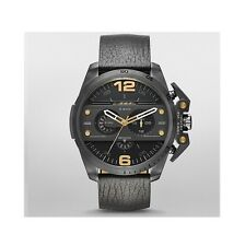 Diesel Watch, DZ4386, Black Leather Band, 55mm Case, 5ATM WR RRP$429