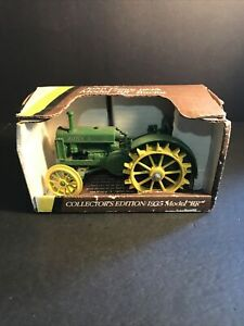 "John Deere 1935 Model ""BR"" Tractor Collectors Edition NIB"