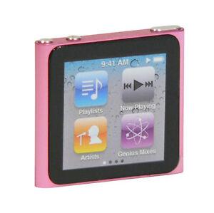 Apple iPod Nano 8 GB Pink 6th Generation 2010 BRAND NEW & Sealed