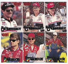 1996 Knight Quest Complete 45 card set BV$15! Multiple Earnhardt's & Gordon's!