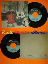 LP 45 7''NINI ROSSO La ballata della tromba Tempo estate italy TITANUS*cd mc dvd
