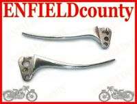 NEW LAMBRETTA SCOOTER ALLOY MADE CHROME BRAKE AND CLUTCH LEVERS @ECspares