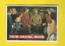 1956 Topps Davy Crockett Orange Back #44