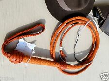 14 Foot 12 Plait Raider Whip SameAs INDIANA JONES Leather BULLWHIP #CW31