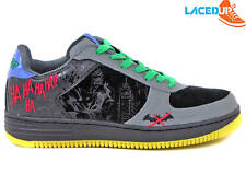 DC COMICS THE JOKER SHOES BATMAN DARK KNIGHT AF1 HAHA COLLECTIBLE SNEAKERS 9.5