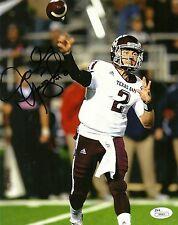 JOHNNY MANZIEL HAND SIGNED TEXAS A&M AGGIES 8X10 PHOTO W/ JSA COA