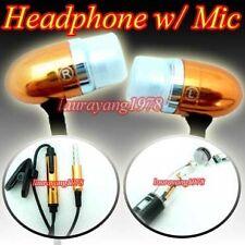 GOLD EARPHONE HEADPHONE for IPOD NANO 4TH GEN 8GB 16GB