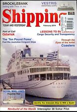 Shipping Today and Yesterday February 2014 Post-War Australian Emigrant Ships