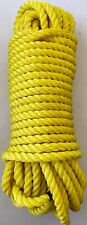 """ROPE HEAVY DUTY POLY 7/16"""" X 100 FT USA MADE Handles 3500lb STRONG SAVE $$"""