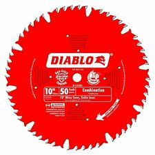 Freud D1050X Diablo 10-inch 50T ATB Combination Saw Blade with 5/8-inch Arbor