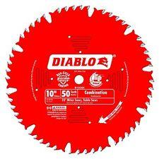 Freud D1050X Diablo 10-inch 50T ATB Combination Saw Blade with 5/8-inch Arbor